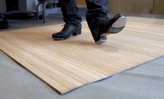 Wooden Kiwi Custom Floors. SaveEnlarge · Flooring For Ballet Tap Dance  Floor Portable ...